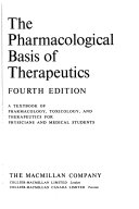The Pharmacological Basis Of Therapeutics Book PDF