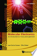 Molecular Electronics  An Introduction To Theory And Experiment  2nd Edition