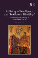 Pdf A History of Intelligence and 'Intellectual Disability'