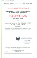 Amendments to the Federal Rules of Bankruptcy Procedure