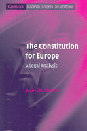 The Constitution for Europe