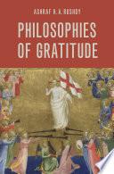 Philosophies of Gratitude Book