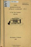 The Birmingham Public Library