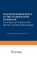 Magnesium Deficiency in the Pathogenesis of Disease Pdf