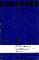 Si Parménide