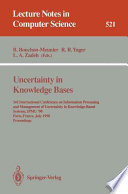 Uncertainty in Knowledge Bases