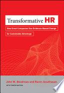 Transformative Hr Book PDF