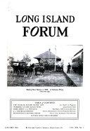 Long Island Forum Book PDF