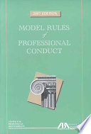 Model Rules of Professional Conduct Book