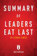 Summary of Leaders Eat Last
