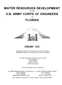 Water Resources Development By The U S Army Corps Of Engineers In Florida