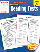 Scholastic Success with Reading Tests  : Grade 4