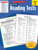 Scholastic Success with Reading Tests