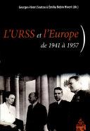 L'URSS et l'Europe de 1941 à 1957