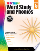 """Spectrum Word Study and Phonics, Grade 5"" by Spectrum"