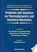 Problems And Solutions On Thermodynamics And Statistical Mechanics Book PDF