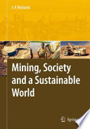 Mining  Society  and a Sustainable World