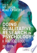 Doing Qualitative Research in Psychology Book PDF