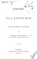 Letters to a Young Man Book