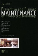 Preventive and Planned Maintenance of Protected Buildings