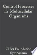 Control Processes in Multicellular Organisms