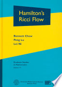 Cover of Hamilton's Ricci Flow