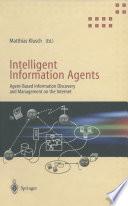 Intelligent Information Agents Book