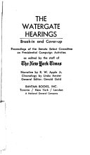 Pdf The Watergate Hearings: Break-in and Cover-up