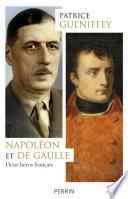 Napoléon et de Gaulle Pdf/ePub eBook