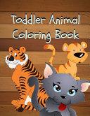 Toddler Animal Coloring Book
