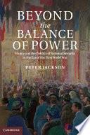 Beyond The Balance Of Power Book PDF