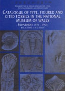 Catalogue of Type  Figured and Cited Fossils in the National Museum of Wales