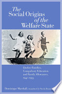 The Social Origins Of The Welfare State