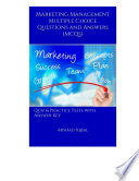 Marketing Management Multiple Choice Questions and Answers  MCQs