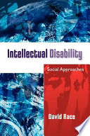 Intellectual Disability Social Approaches