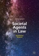 Societal Agents in Law [Pdf/ePub] eBook