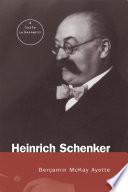 Heinrich Schenker Book PDF