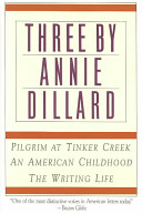 Three By Annie Dillard PDF