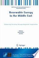 Renewable Energy In The Middle East Book PDF
