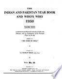 Indian & Pakistan Year Book & Who's who  , Volume 36