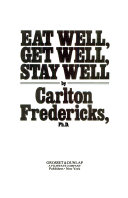 Eat Well Get Well Stay Well