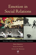 Emotion in Social Relations Book