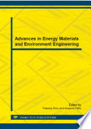 Advances in Energy Materials and Environment Engineering Book