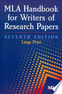 MLA Handbook for Writers of Research Papers.epub