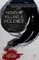 'Honour' Killing and Violence Pdf/ePub eBook