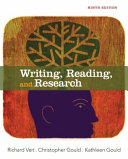 Writing  Reading  and Research Book