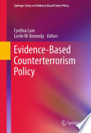 Evidence Based Counterterrorism Policy Book