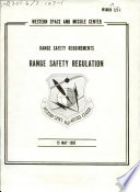 Range Safety Requirements