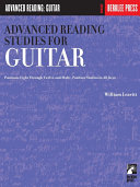 Advanced Reading Studies for Guitar (Music Instruction)