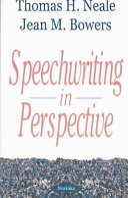 Speechwriting in Perspective